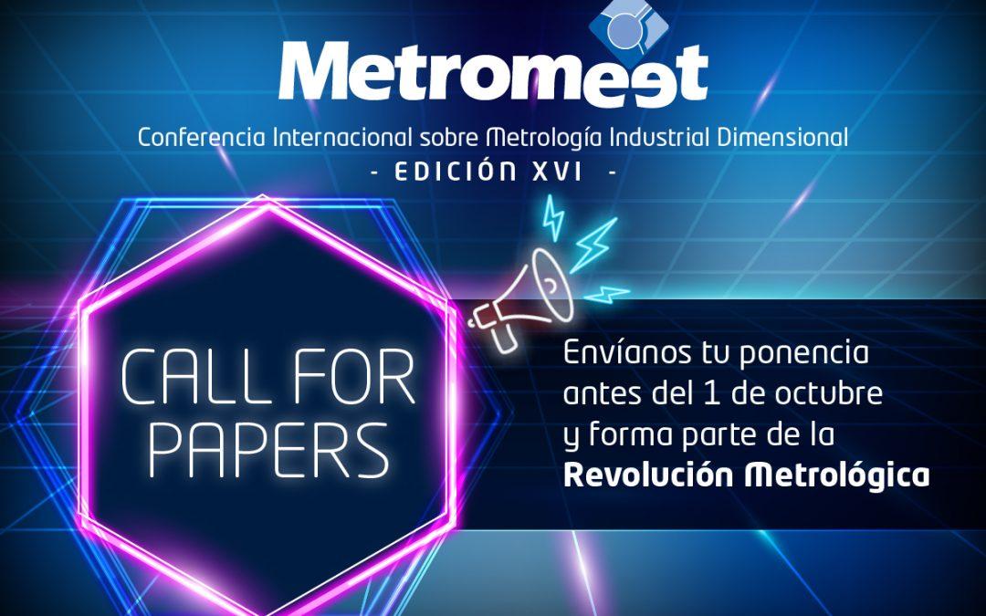 Metromeet abre su call for papers y busca posibles ponentes para la 16ª edición de la Conferencia Internacional en Metrología Industrial